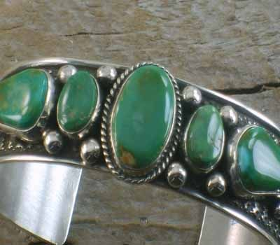 Turquosie cuff bracelets, Guy Hoskie cuff bracelet,Native American bracelets at TheTurquoiseMine