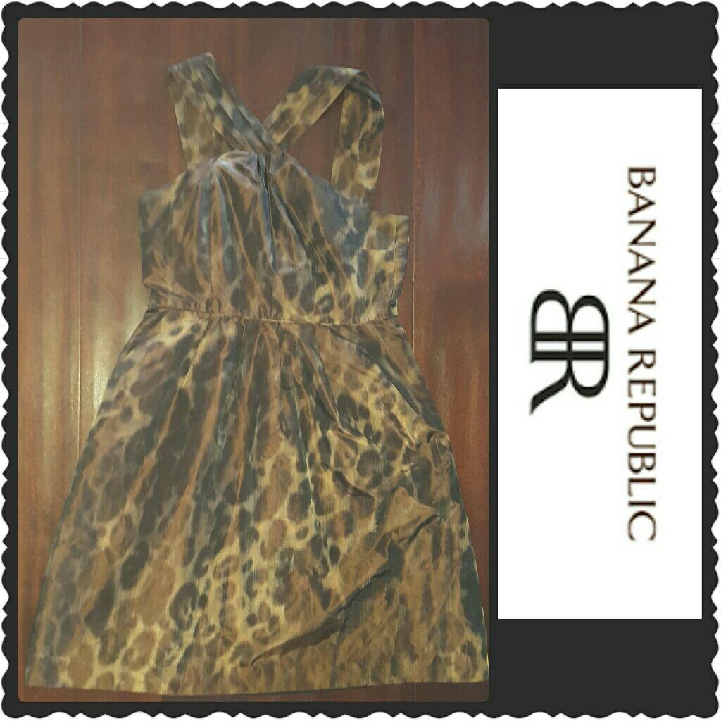 Banana republic criss cross strap a line dress banana republic and