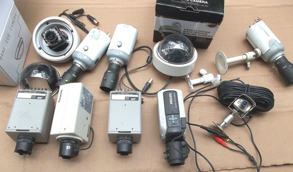 Huge i spy camera lot for home security or whatever you