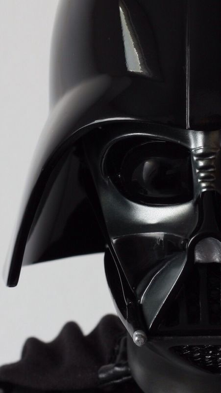 Close up Darth Vader iPhone 5 wallpaper