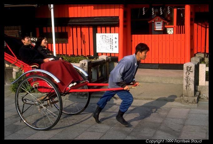 RICKSHAW   Human-powered rickshaw