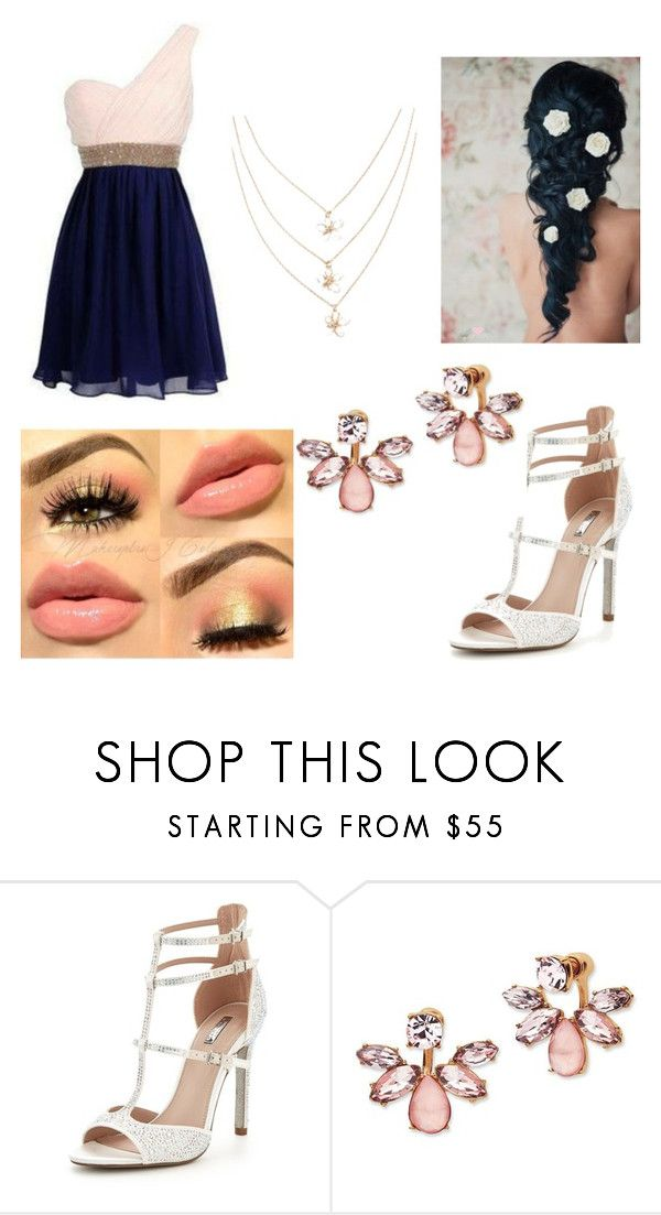 """best day ever"" by michelle45656-1 ❤ liked on Polyvore featuring Carvela and Marchesa"