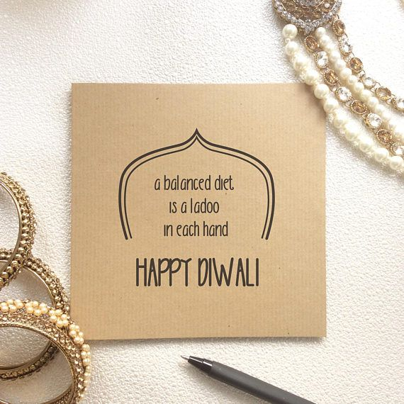 Items similar to Diwali Card, Diwali Greetings, Deepavali, Indian Occasion Card, Indian Celebration, Indian Festival, Festival of Lights, Desi Card, Humour. on Etsy