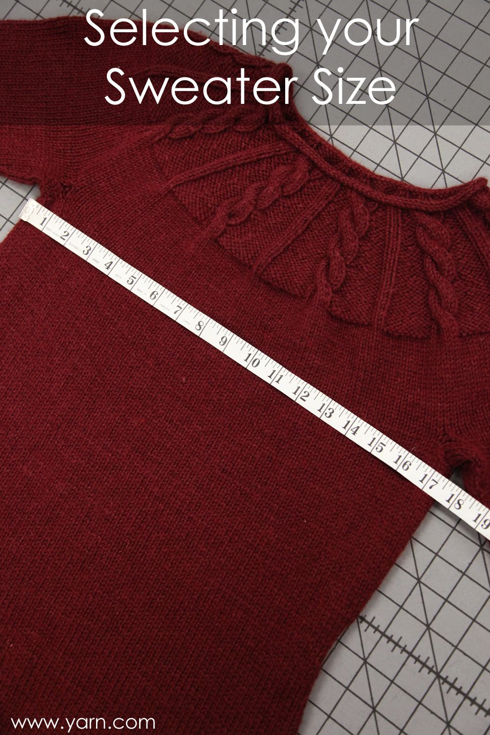 How to Choose the Right Size Sweater to Knit