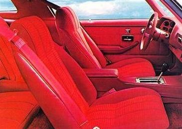 1977 Camaro Front Bucket Seat Covers Set LT Deluxe Custom Vinyl