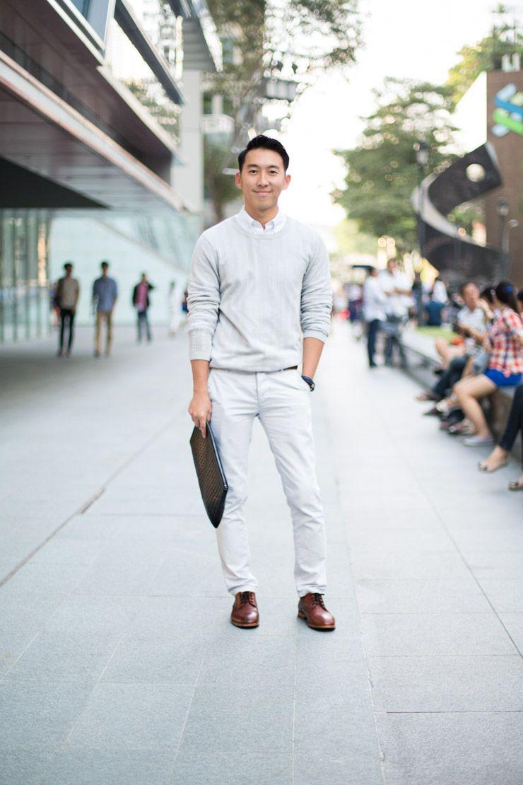 d144e1389b5cc SHENTONISTA: Man On The Move. Jonathan, Publishing, Sweater from Topman,  Clutch from Bottega Veneta. #shentonista #theuniform #singapore #fashion ...