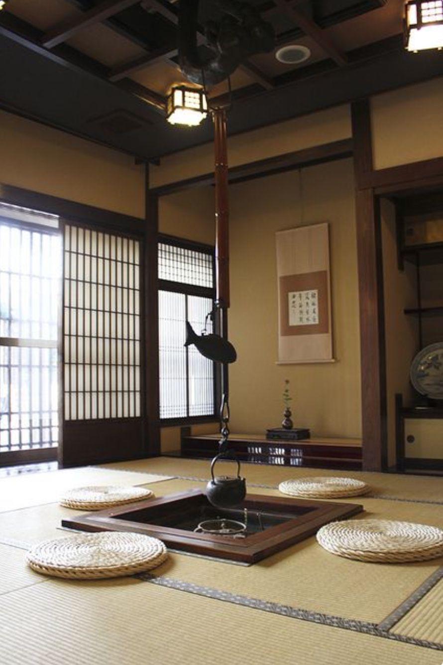 Japanese Traditional Interior 囲炉裏 和のインテリア 和室