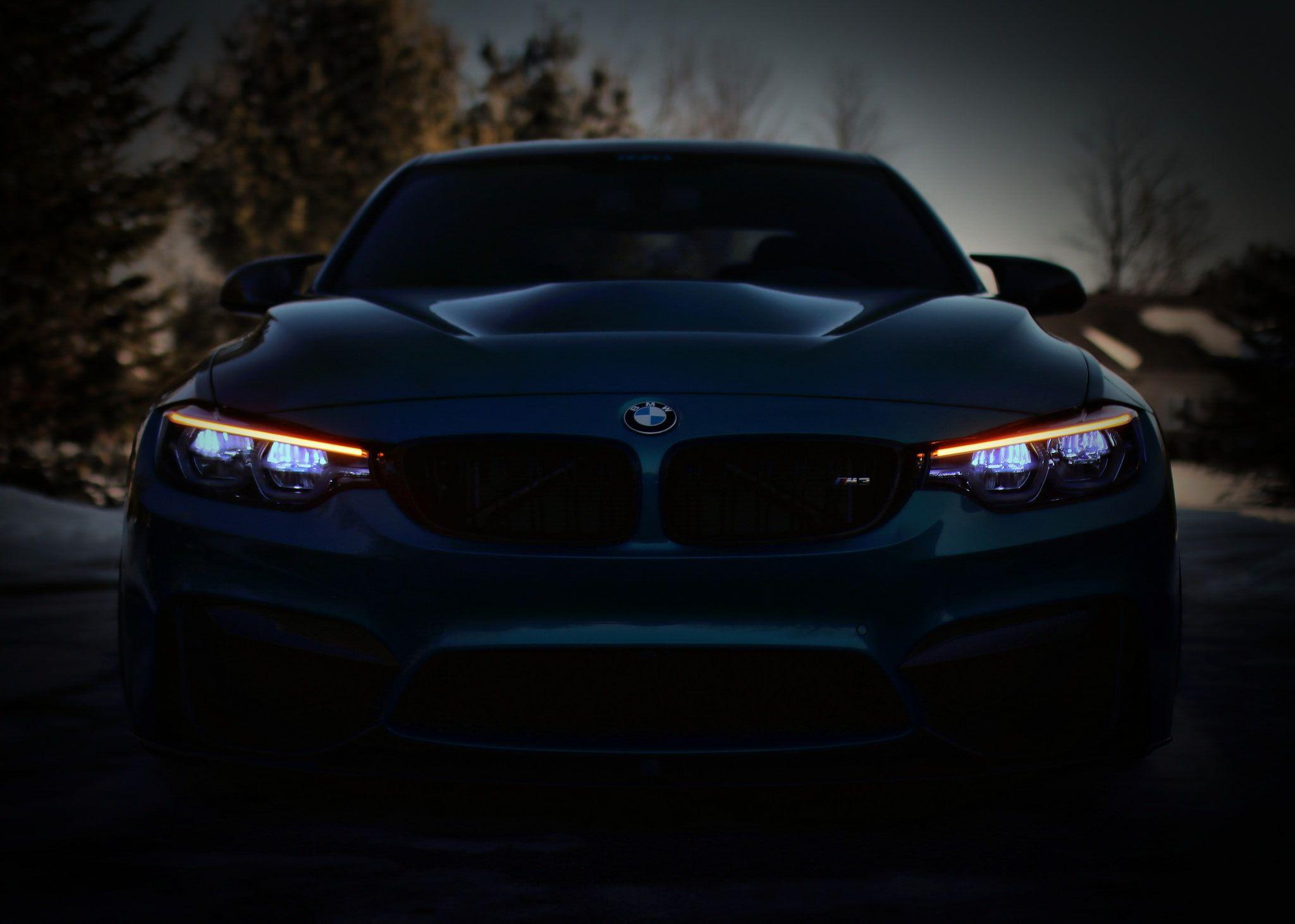 Gray Bmw Car Bmw Blue Front F80 Sight Led 1080p Wallpaper Hdwallpaper Desktop Bmw Grey Bmw Bmw M4 Blue