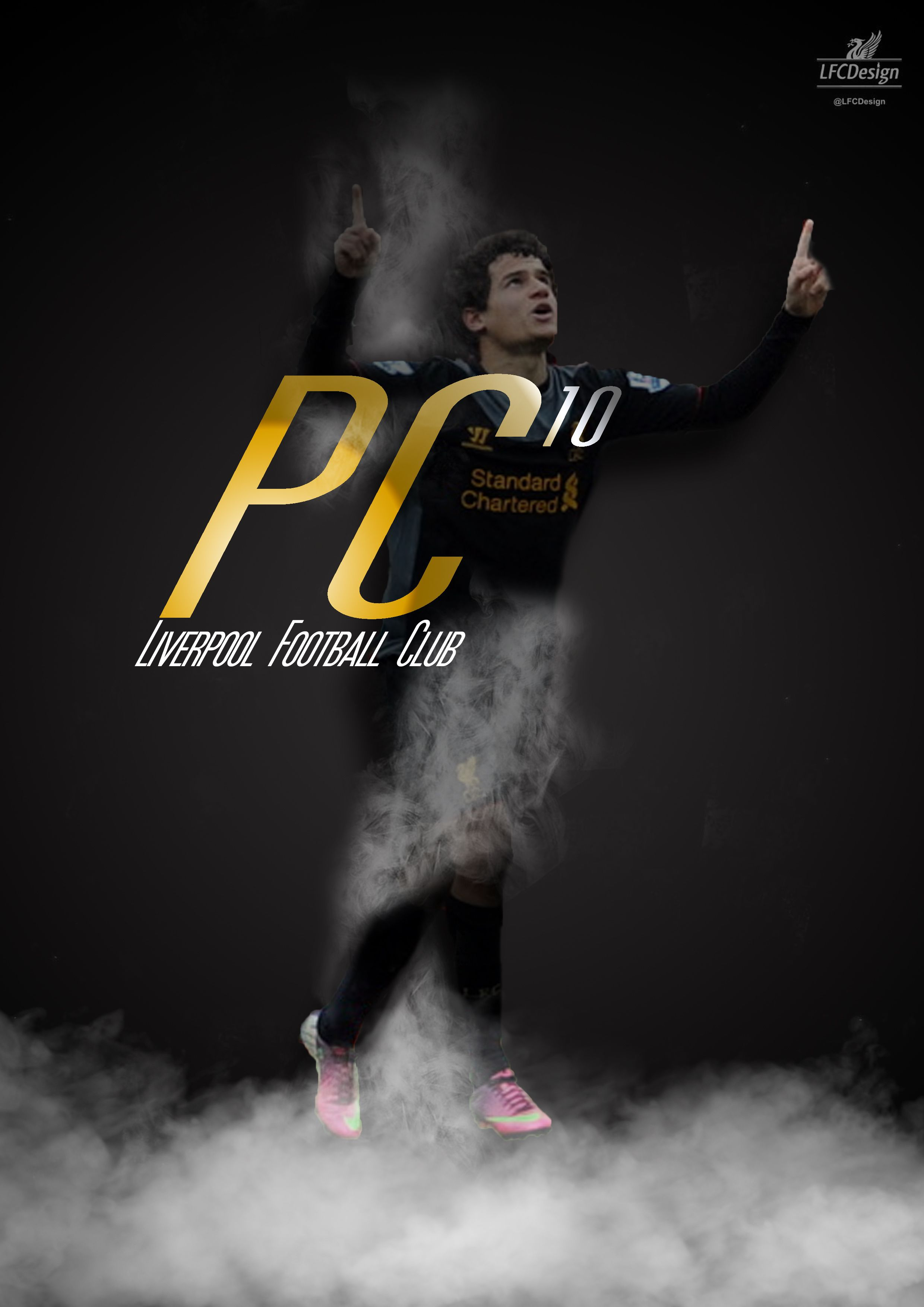 Liverpool fc wallpaper 1000 goals - Lfc Player Philippe Coutinho Poster Iphone Background