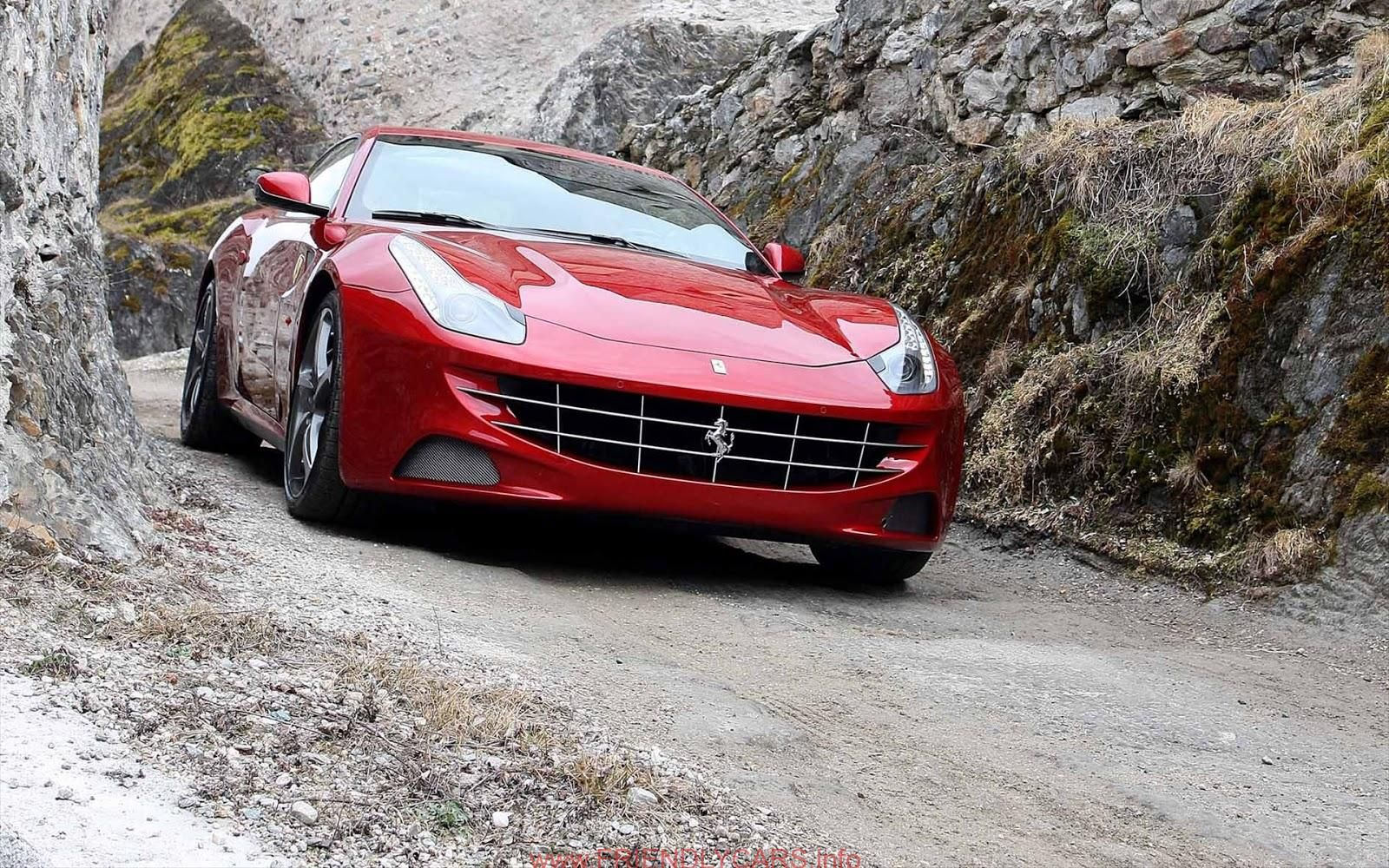 Nice Ferrari Ff Red Interior Car Images Hd Cars Wallpapers12