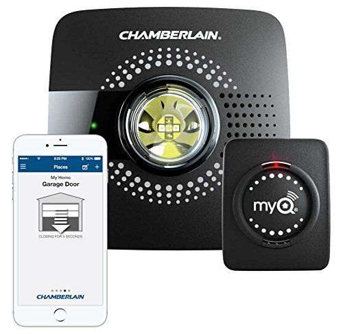 With The Chamberlain Myq Smart Garage Door Opener You Can Open And