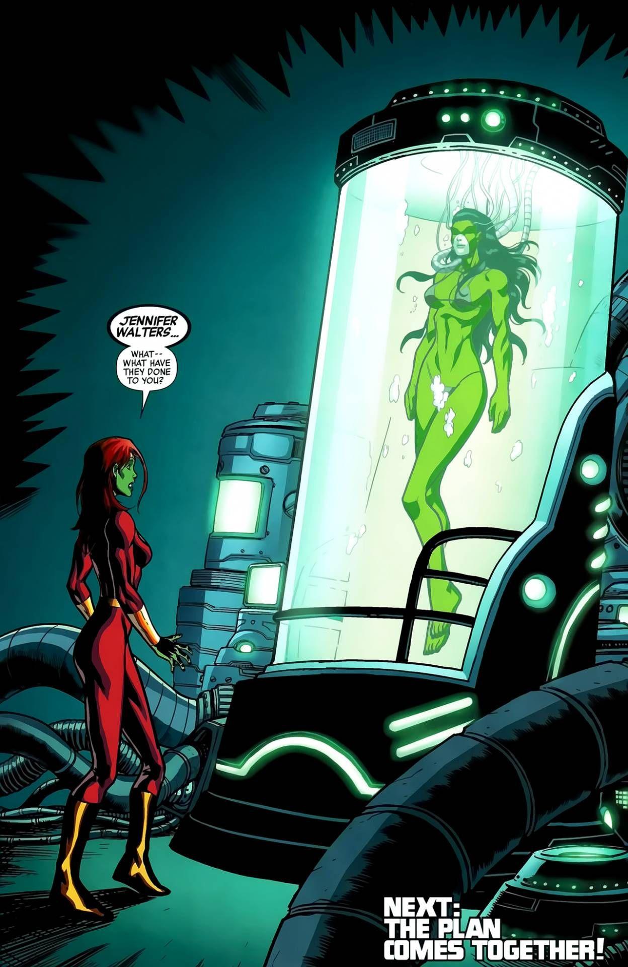 Can Green girl hulk naked