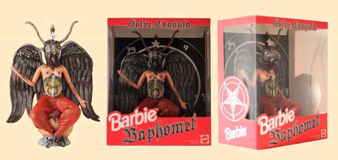Barbie Baphomet Antitheist Pinterest Barbie Baphomet And Dolls