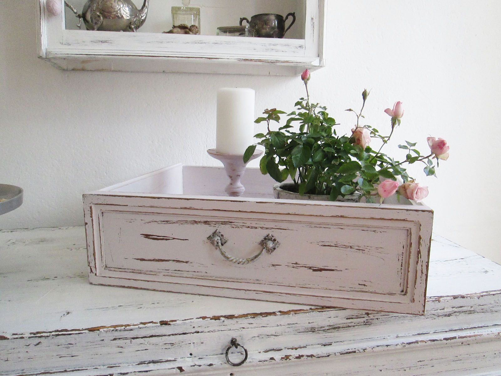 Alte Schublade Shabby Chic Shabby Deko in 2019 Home Decor