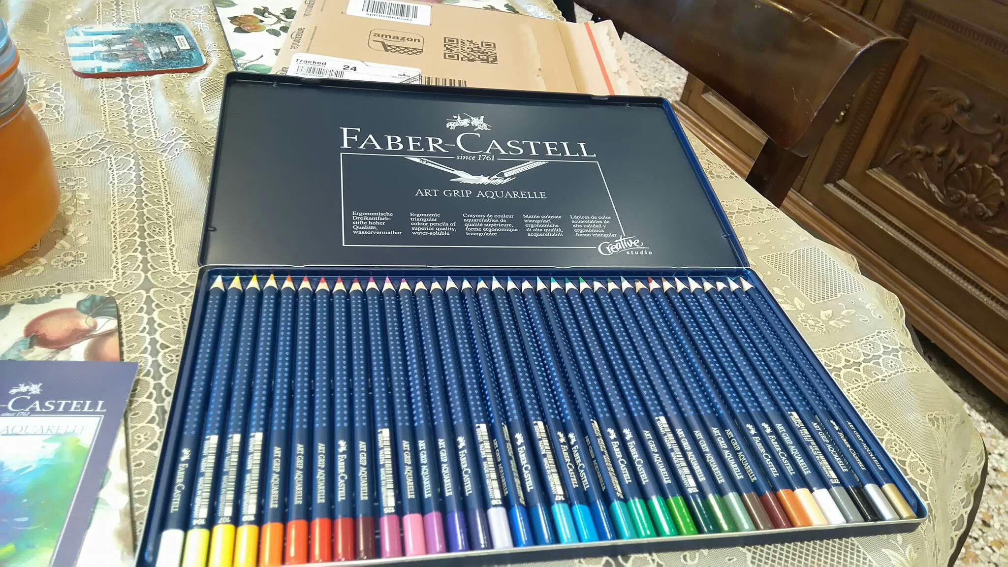 My New Faber Castell Watercolour Pencils 36 Set From Amazon Prime