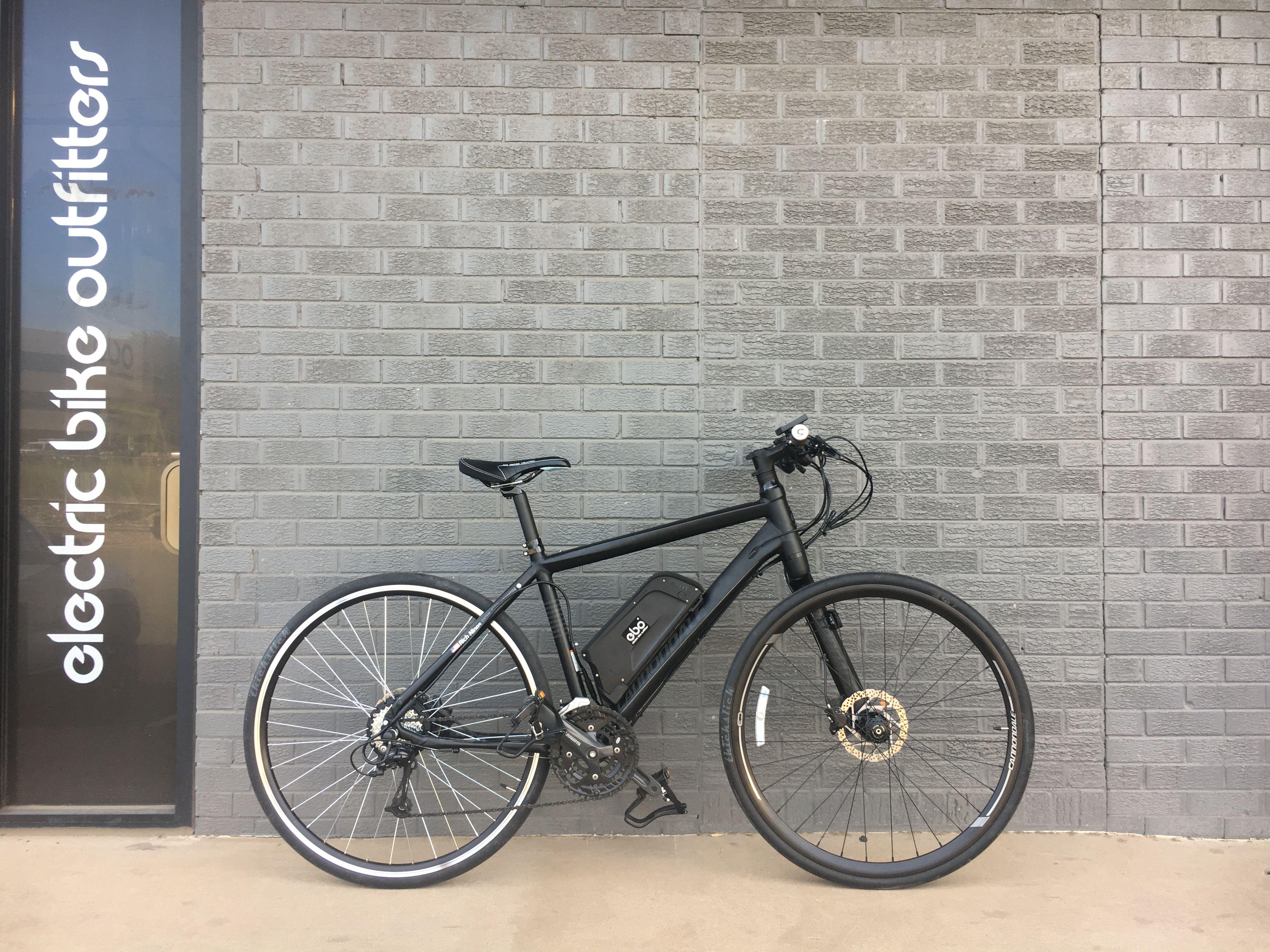 Ebo Burly Kit Installed On A Cannondale Bad Boy Cannondale Bad Boy Cannondale Electric Bike