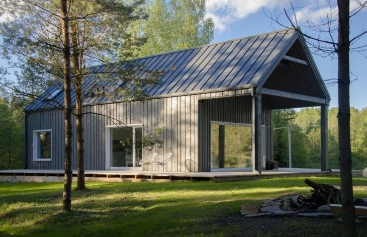 Lithuanian Cottage by Devyni Architektai - Archiscene - Your Daily Architecture & Design Update