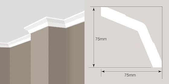 Gyprock cornices for living room | House styles, Gyprock ...