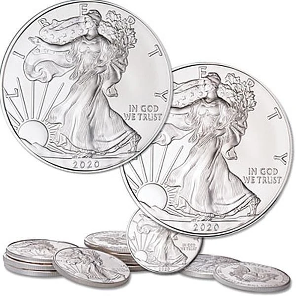 Full Collection Us 1 Oz Silver Eagle Brand Not Circulating Boodshop In 2020 American Silver Eagle Silver Eagles Coins
