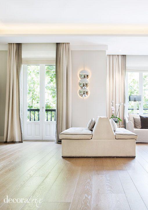 Reforma moderna de un piso antiguo cortinas pinterest - Reforma integral piso antiguo ...