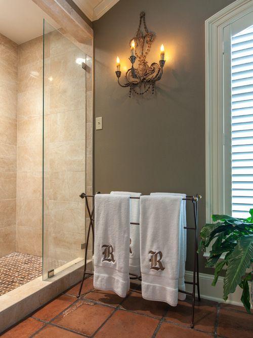 Interior Design Ideas With Images Terracotta Tiles Bathroom