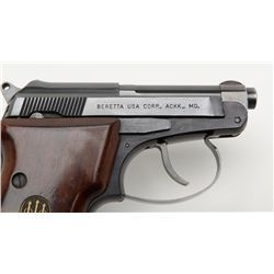 Beretta Model 21A, semi-automatic pistol, cal. .22 LR, Serial #22877U. The pistol is in overall g