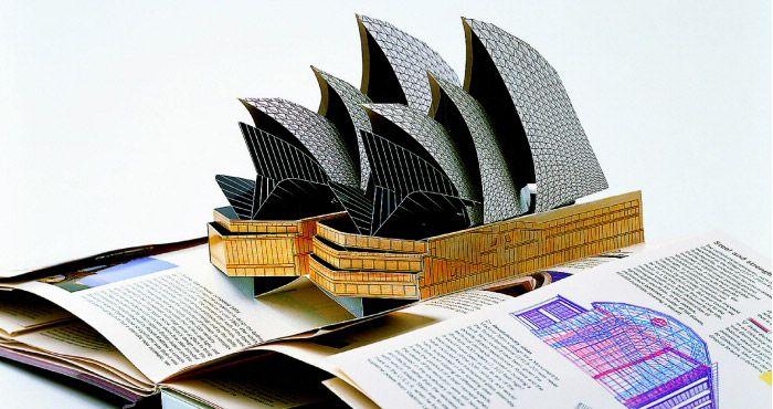 livre pop up d 39 architecture sidney popup paper pinterest real friends sculptures en. Black Bedroom Furniture Sets. Home Design Ideas