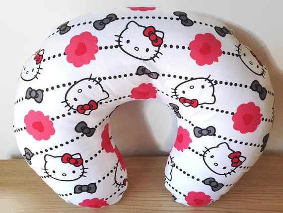 Hello Kitty Boppy Cover Breastfeeding Pillow by MamaFoxSews