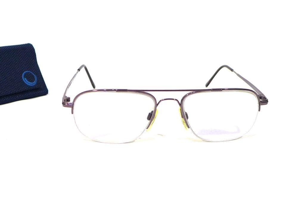 Flexon Marchon 603 Gunmetal Eyeglasses 55-18-145 With Case