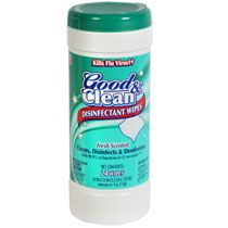 Bulk Good Clean Fresh Scented Disinfectant Wipes 24 Ct Canisters At Dollartree Com Cleaning Wipes Disinfecting Wipes Cleaning Clothes