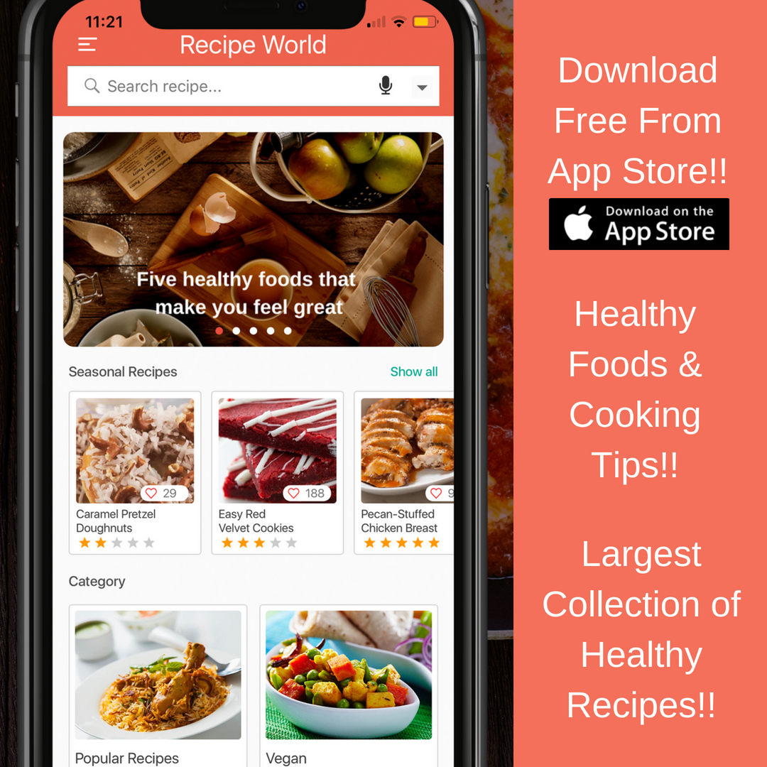 Check Out One Of The Best Feature Rich Recipe App Download Today