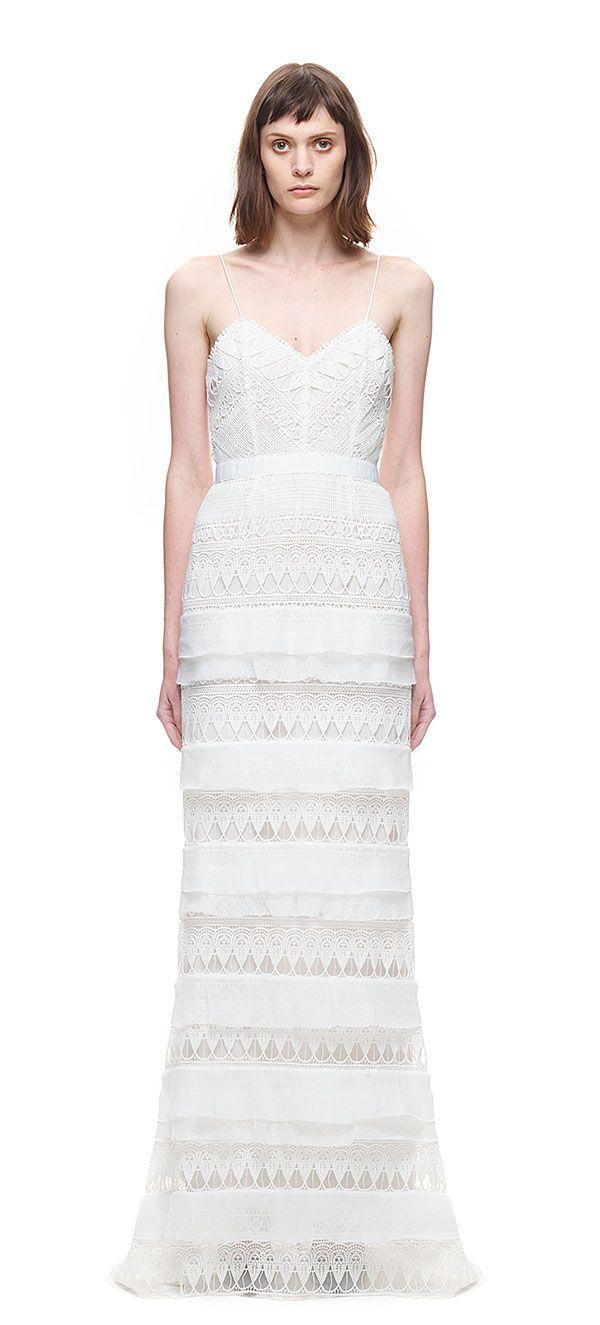 c430c6c953d2 Penelope Tiered Teardrop Lace Gown. Penelope Tiered Teardrop Lace Gown My  Perfect Wedding, Gorgeous Wedding Dress ...