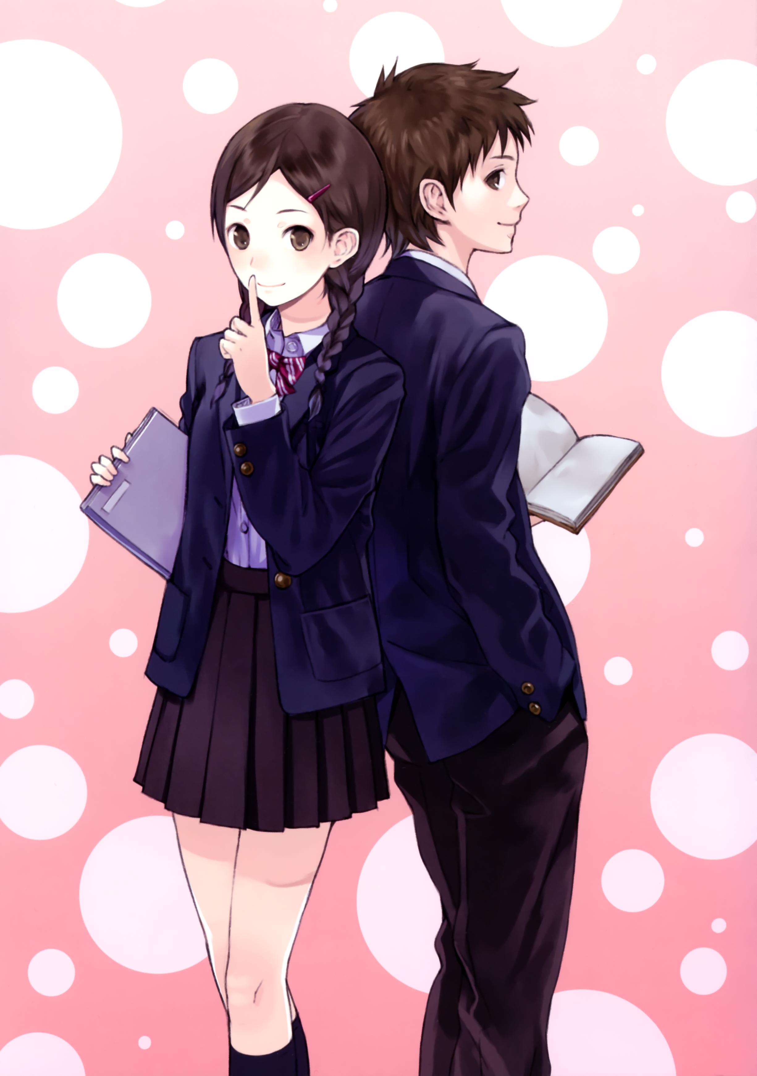 students by Kishida Mel anime illustration Original