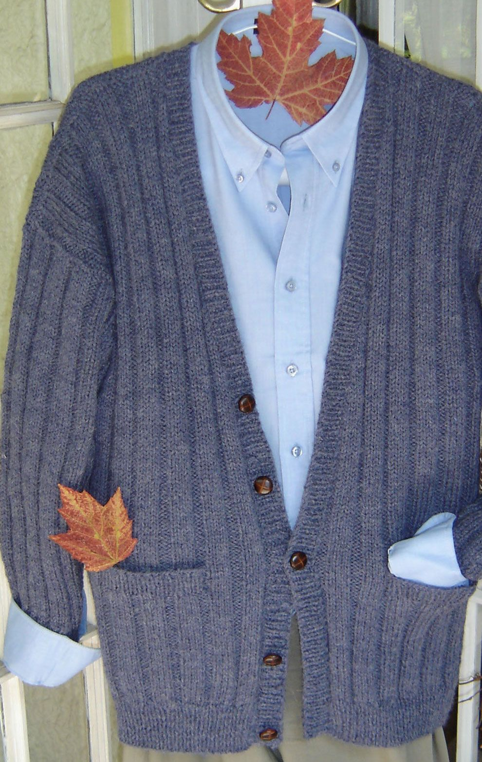 Classic men\'s cardigan to knit - maddy laine Knitting Patterns ...
