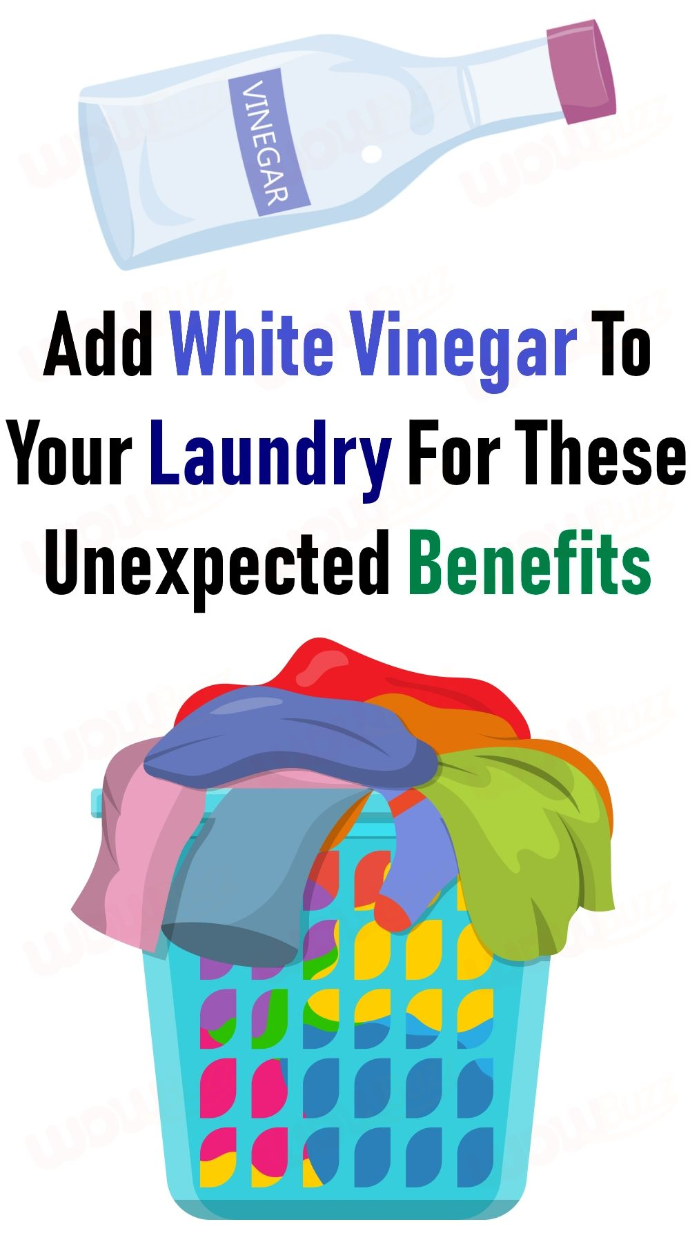 Add White Vinegar To Your Laundry For These Unexpected Benefits