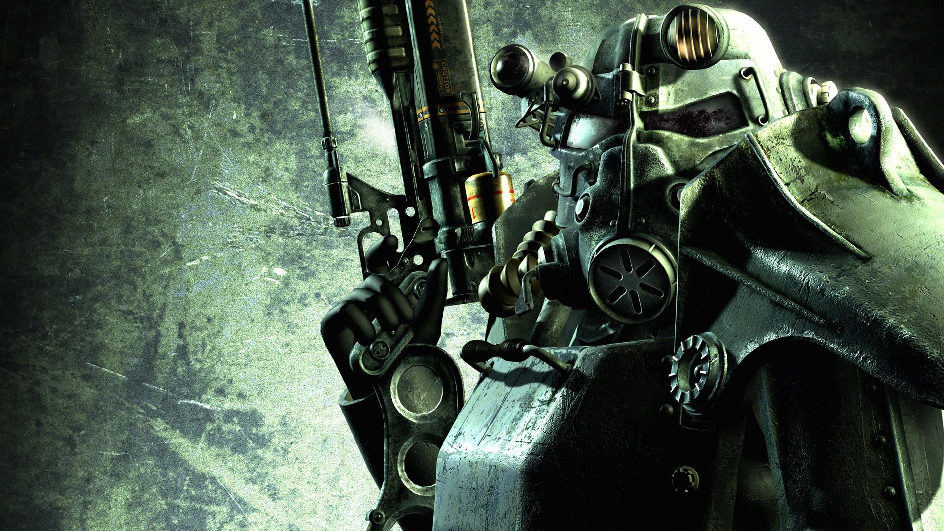 Fallout 3 Power Armour The Used By Brotherhood Of Steel Was Once US Army As Mechanized Infantry Before Bombs Fell