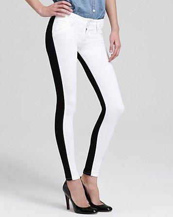 Hudson Jeans - Vice Versa Collin Skinny in White | Bloomingdale's #LETYOURSELFGO