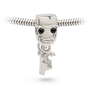 87c27a6b4 Silver-tone Guardians of the Galaxy Baby Groot charm bead. $9.99 ...