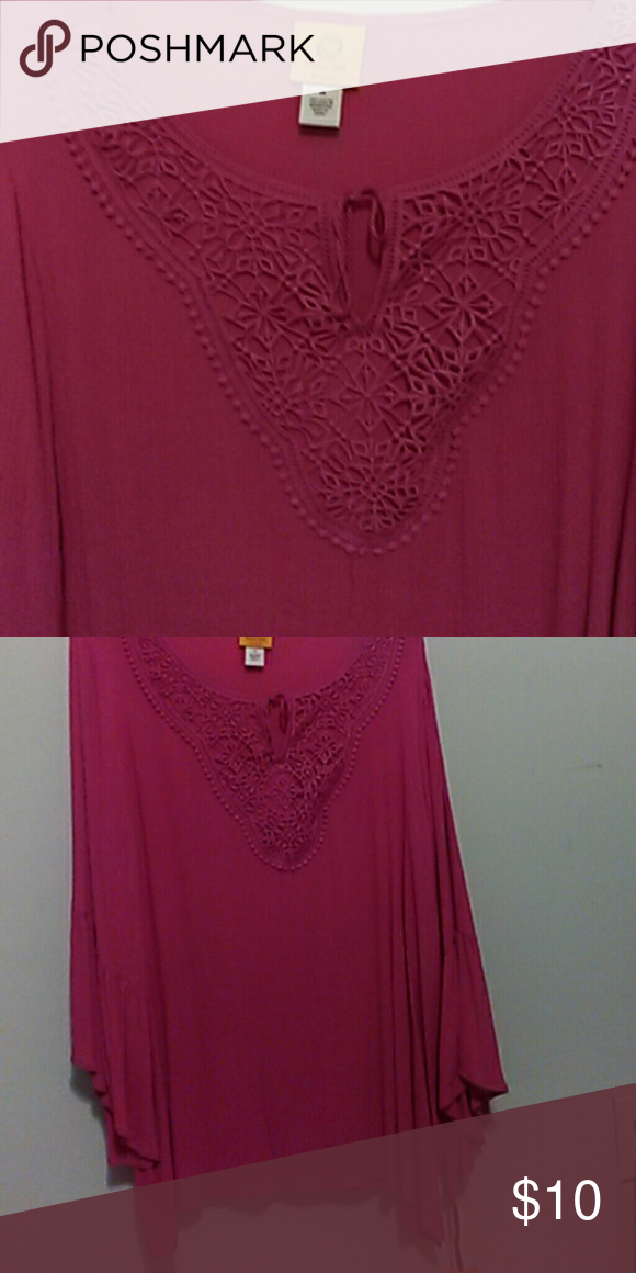 a137a506573e61 Ruby Rd. Dressy Top Viva Antigua Ladies Dressy Casual Top Ruby Rd. Tops  Blouses