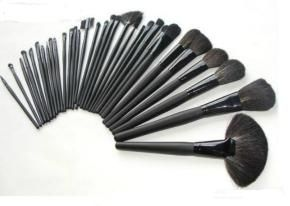 32 piece MAC make-up brush set with pouch $185.00 Free Shipping!