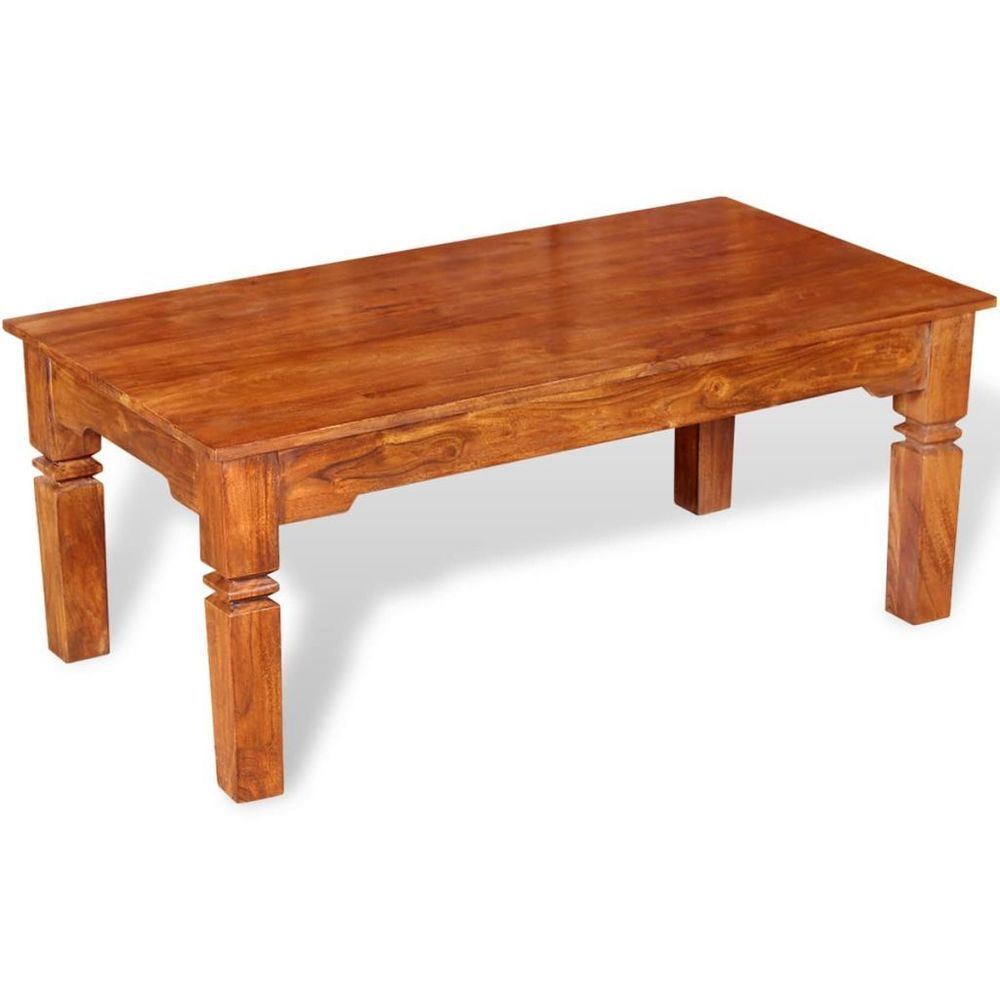 Brown Coffee Table Solid Wooden Rectangular Handmade Living Room Furniture Coffee Table Wood Solid Wood Coffee Table Solid Coffee Table [ 1000 x 1000 Pixel ]