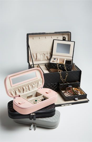 Nordstrom LusterLoc Quilted Travel Jewelry Case Nordstrom I