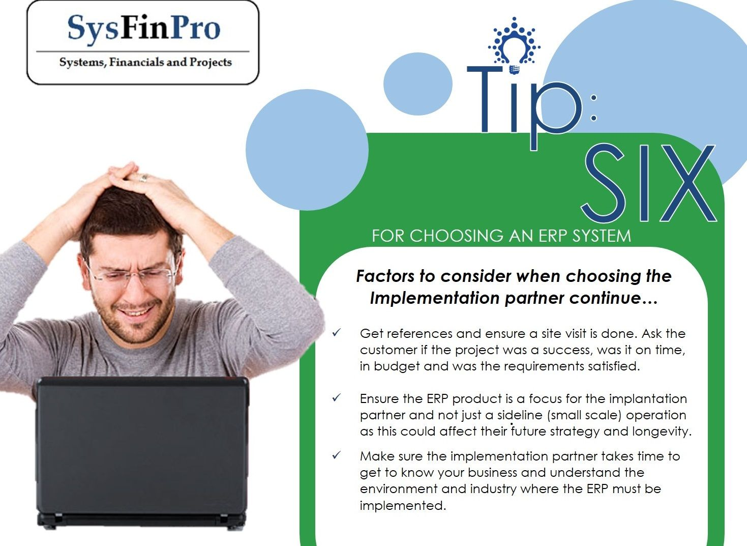 Top Tips for choosing an #ERP system