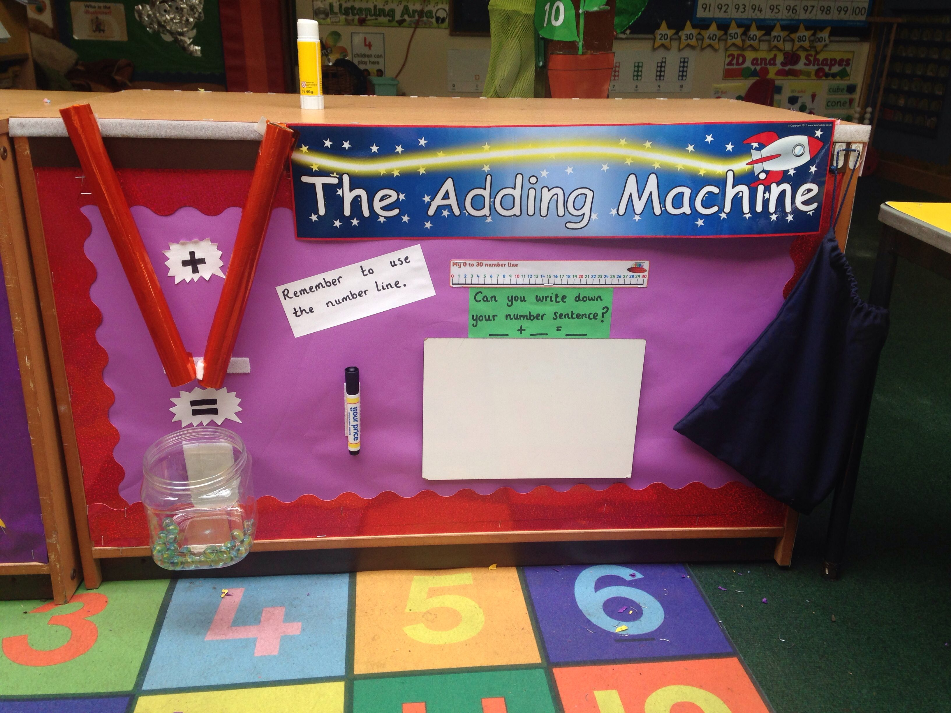 The Adding Machine Gives Children The Opportunity To
