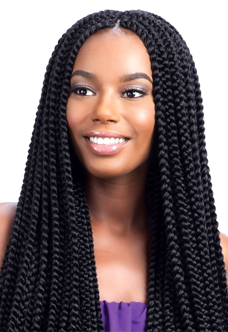 Model Model Glance Crochet Braid LONG LARGE BOX BRAID