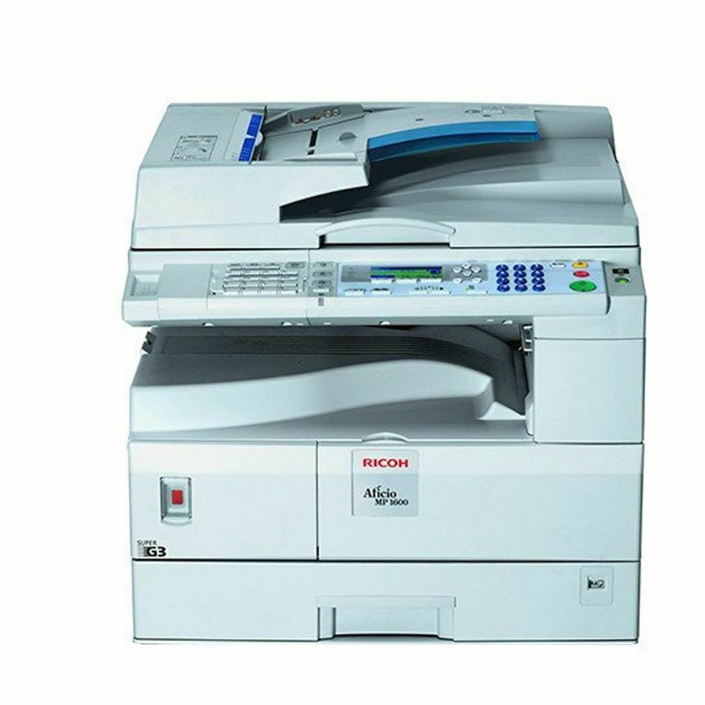 Ricoh Aficio MP 1600SPF MFP Mono Laser Printer Scanner Copier
