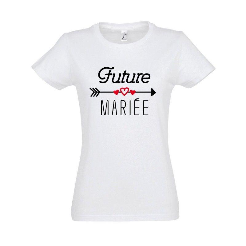 Tshirt EVJF Femme Future mariée 4 evjf Future mariée
