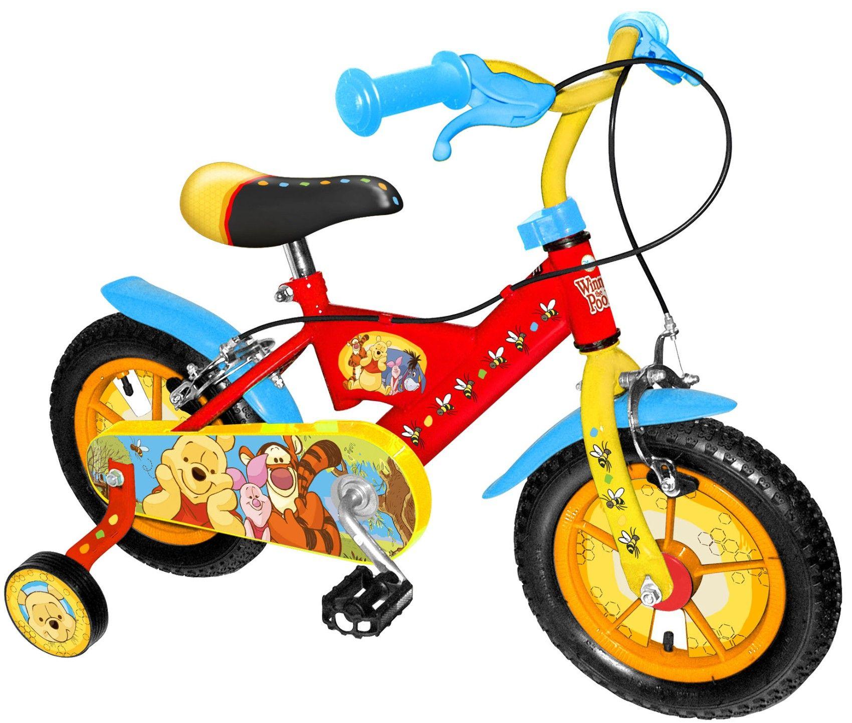 winnie the pooh fahrrad 12 zoll 12 zoll fahrrad. Black Bedroom Furniture Sets. Home Design Ideas