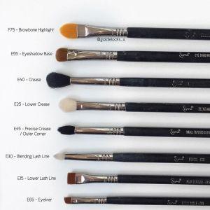 E45 Small Tapered Blending Brush Beauty Brushes Unique Makeup Blending Brushes