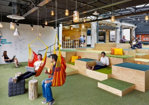 design fun office. Office Slides? A Draft Beer Bar? Check Out These 6 Innovative (and Fun) Workspaces Design Fun